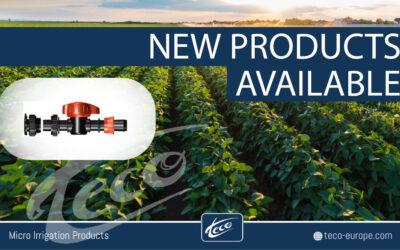 Nuovi prodotti disponibili