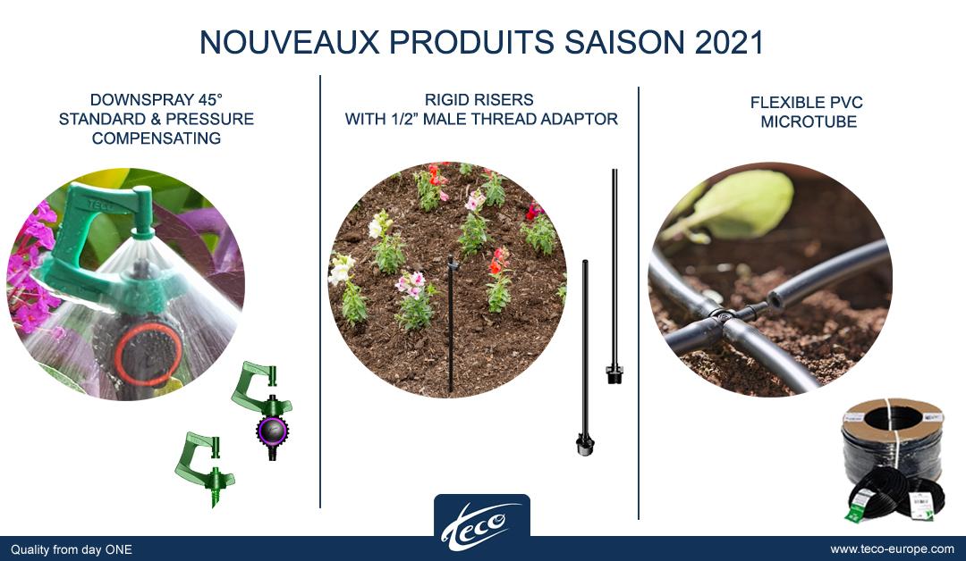 Nouveaux produits 2021